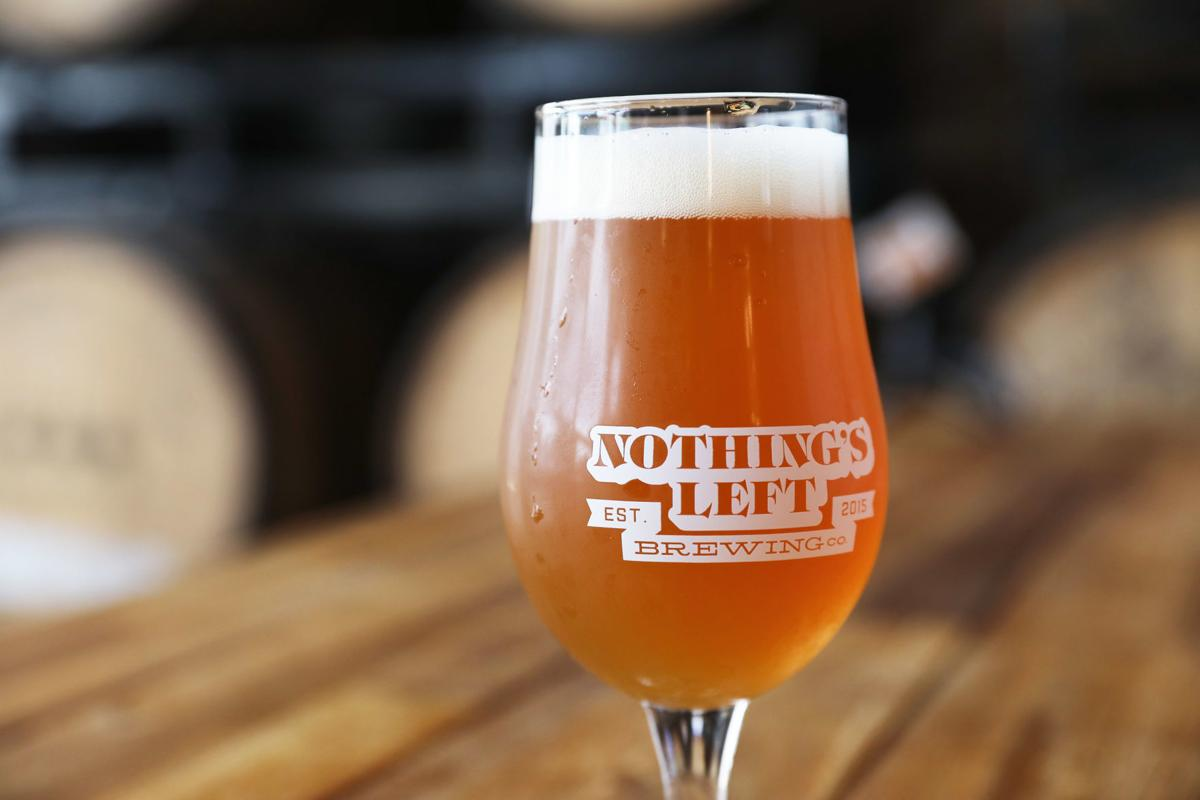 Nothing's Left Brewing Co.'s Peachy King