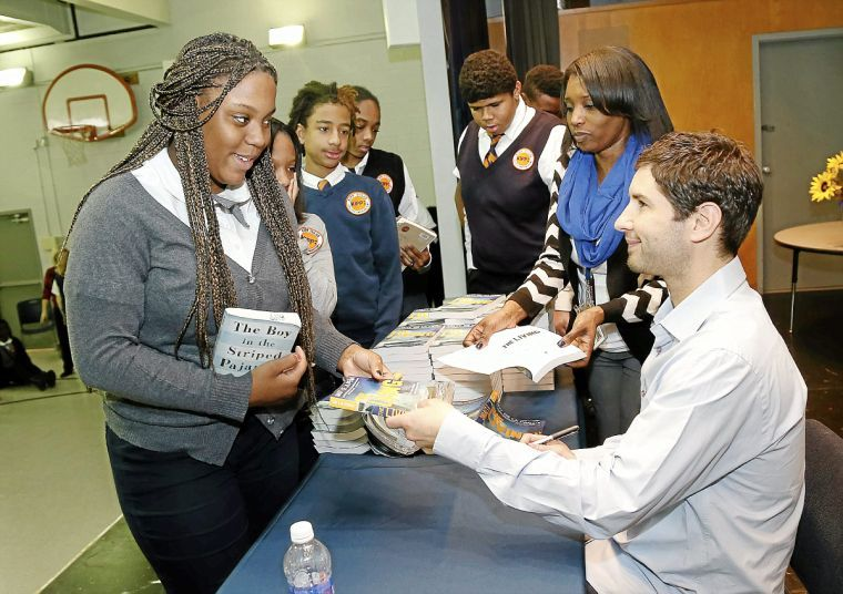 Author Matt De La Peña Visits Kipp Tulsa College Preparatory