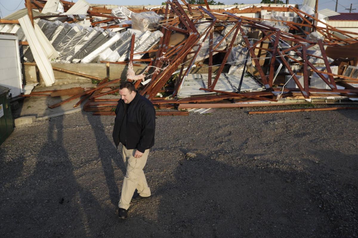 Confirmed tornadoes damage parts of Sapulpa, Broken Arrow ... on talihina oklahoma road map, osage county oklahoma road map, rogers county oklahoma road map, tulsa oklahoma road map, norman oklahoma road map,