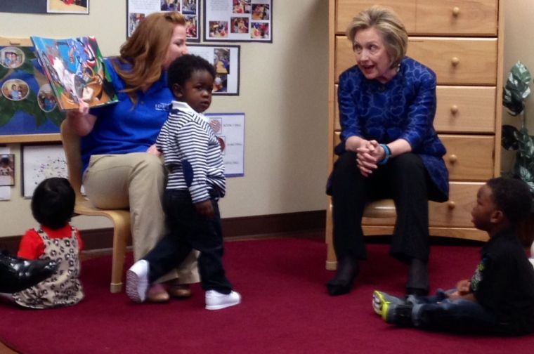 Hillary Clinton in Tulsa March 24, 2014