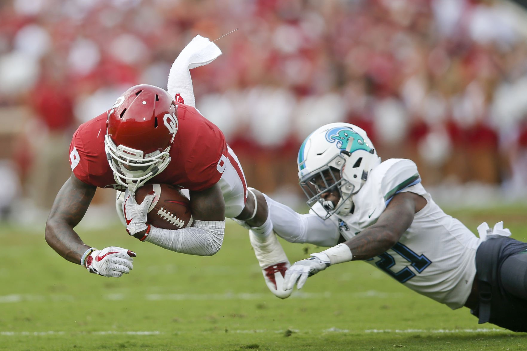 3 key numbers from the Sooners' win over Tulane