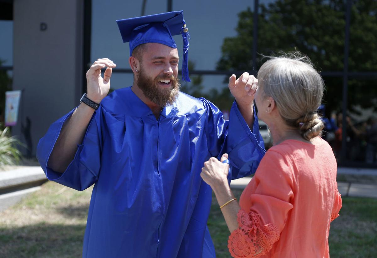 Watch Now: A redemption story: Man once arrested on drugs with alligator in  TCC parking lot just graduated TCC | Education | tulsaworld.com