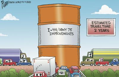 Bruce Plante Cartoon: I-44 / HWY 75 (copy)