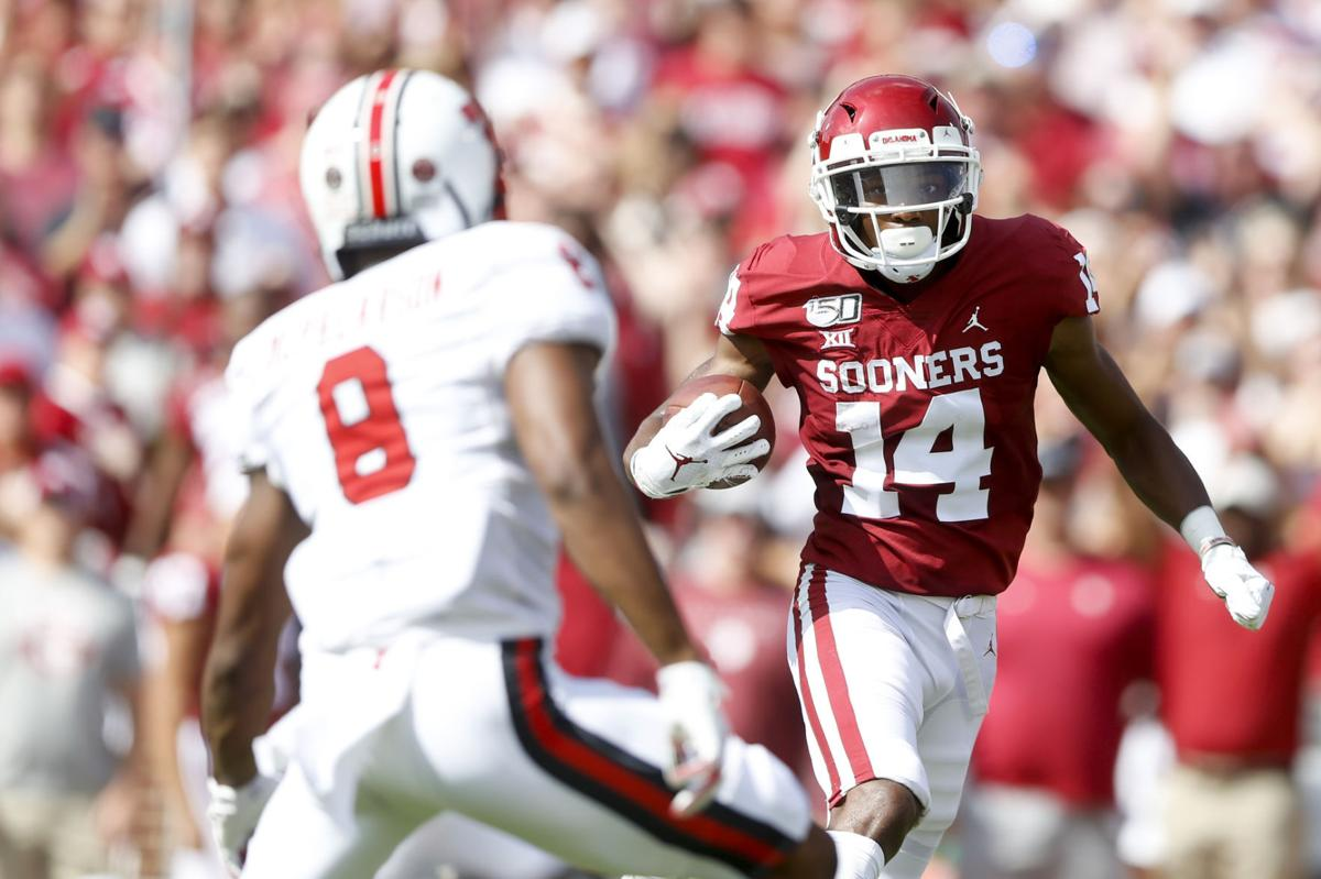 Ou Football Is An Alpha Dog Needed In The Wide Receivers Room Not Necessarily Ou Sports Extra Tulsaworld Com