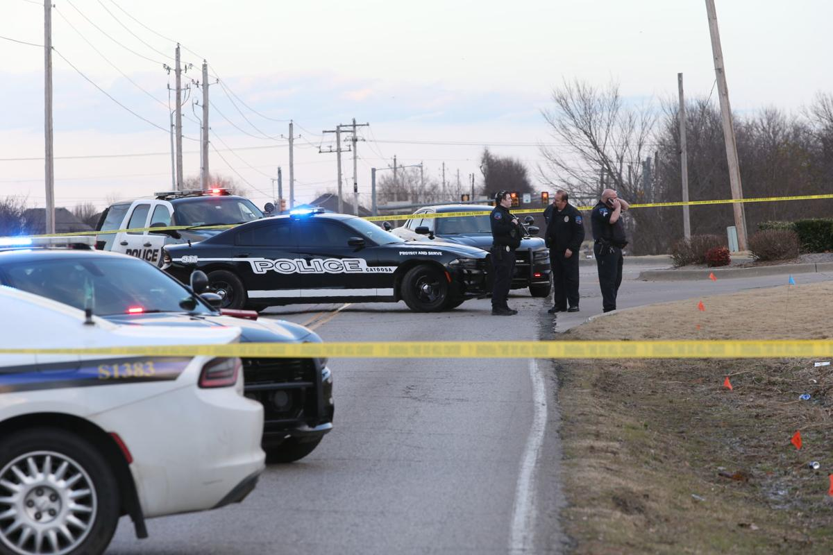 Image result for Man dies after self-inflicted gunshot following high-speed pursuit, Catoosa police say