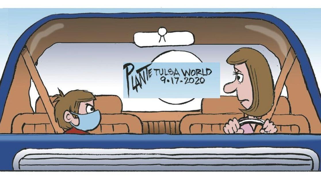 Bruce Plante cartoon: Mask up, everyone