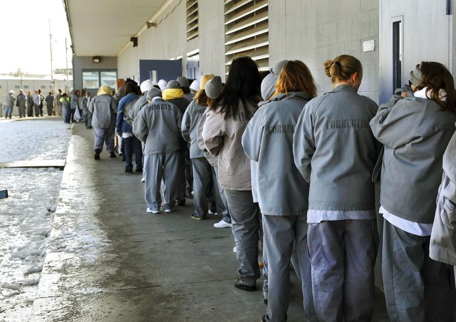Prison admissions surge despite criminal justice reform, report says