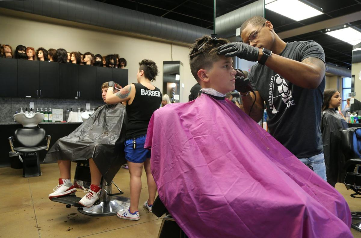 Students Receive Free Supplies Haircuts Before School Starts News