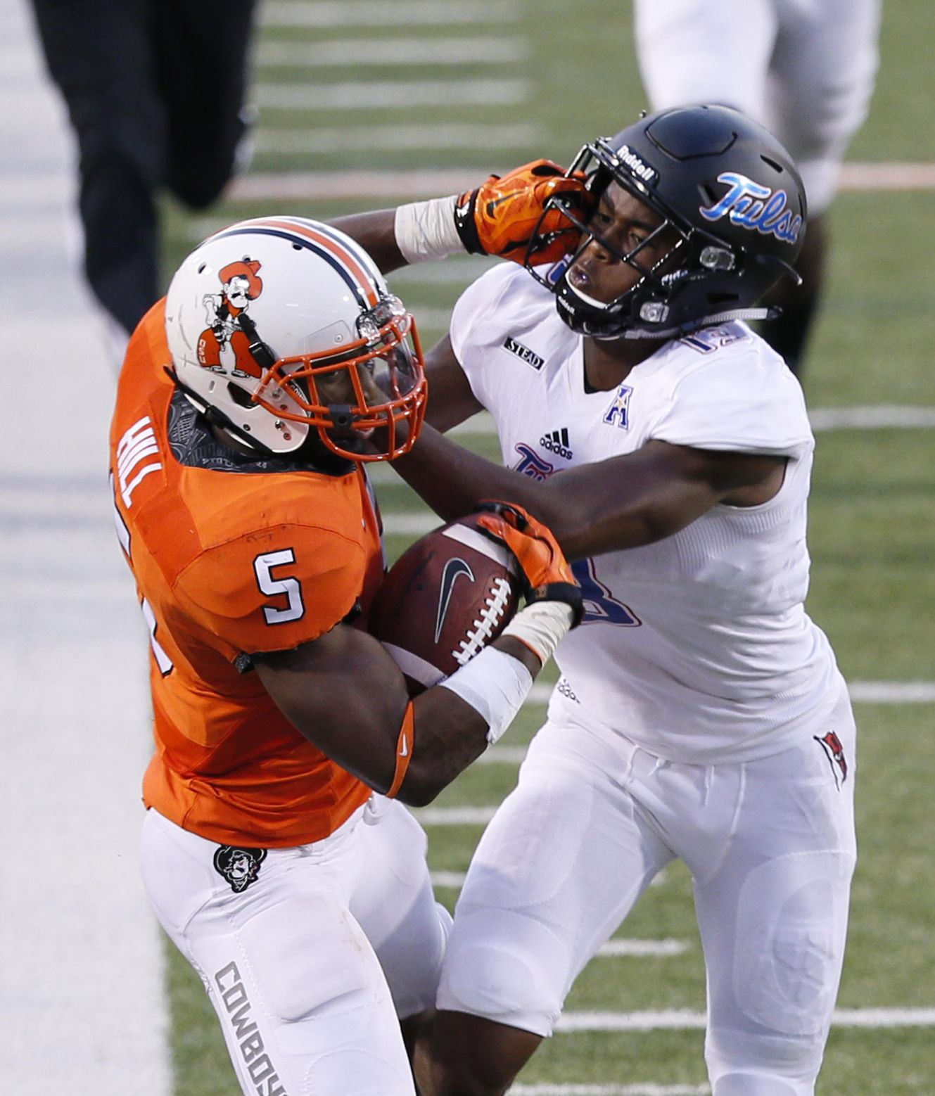 Oklahoma State's Rudolph shows National Football League  form in rout of Pitt