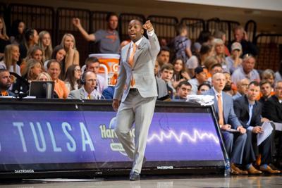 Oklahoma State coach Mike Boynton