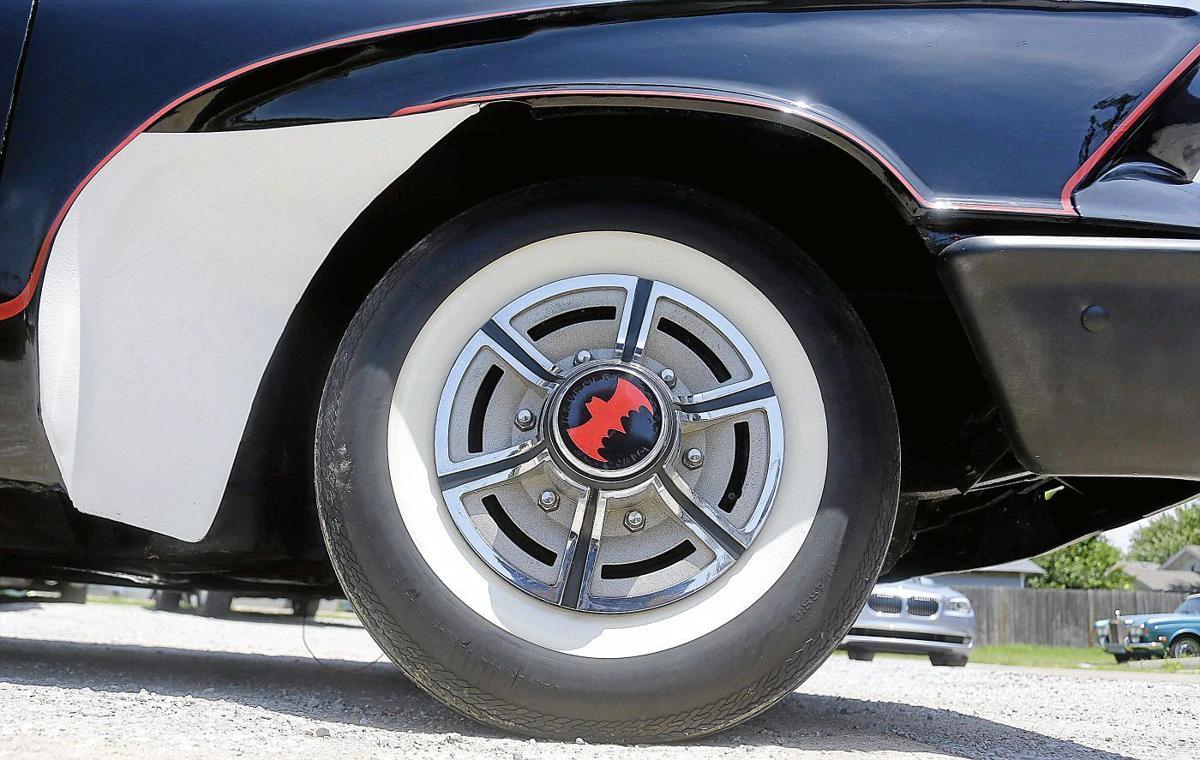 Jimmie Tramel: Batmobile test drive draws crowds with nerd-vana on