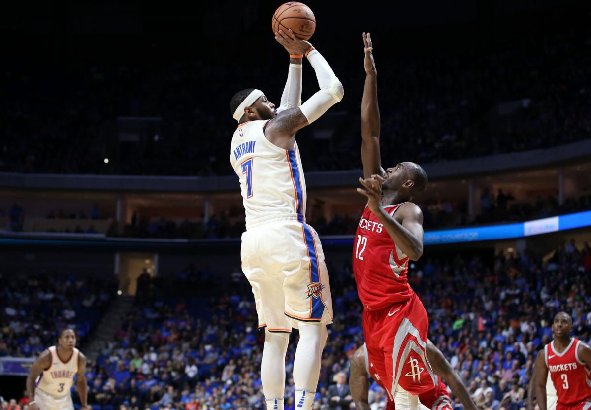 Report: Oklahoma City Thunder, Carmelo Anthony to part ...