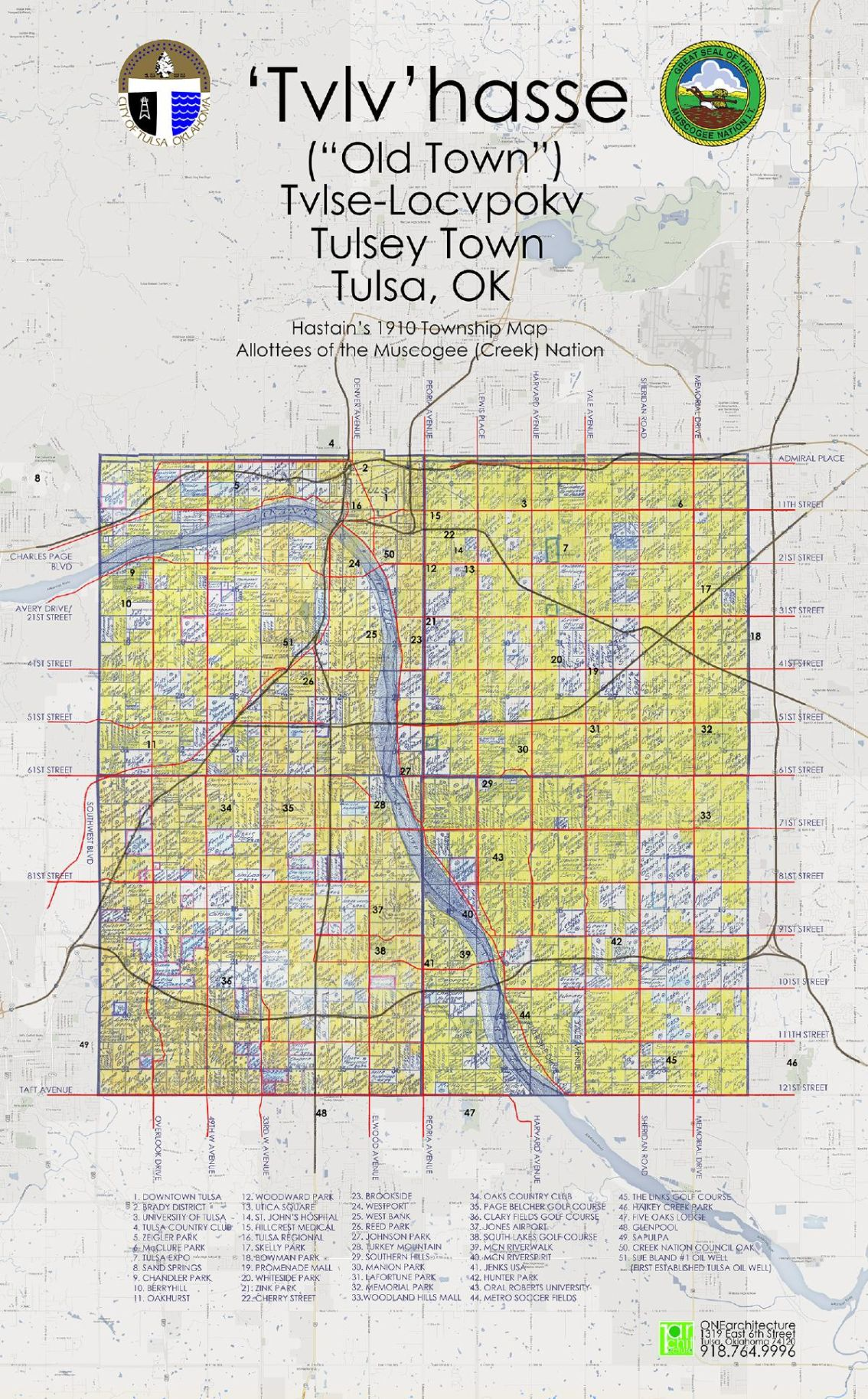 Township map and allotments     tulsaworld com