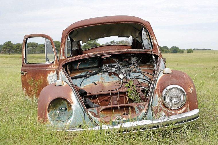 SEEN: VW Beetle Graveyard   SEEN   tulsaworld.com
