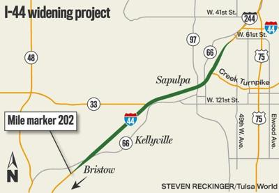 Westbound Turner Turnpike Traffic To Be Detoured Between Sapulpa And