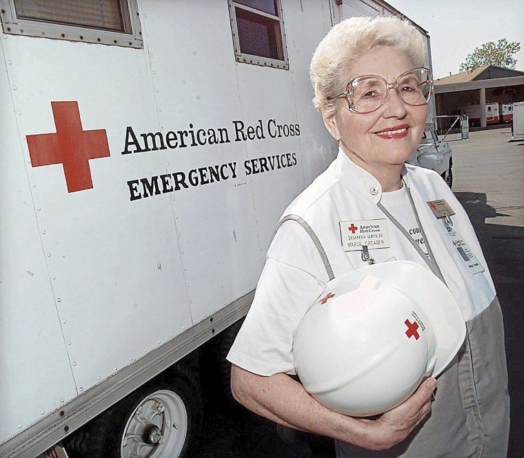 Obituary: Marge Creager, Red Cross volunteer who counseled