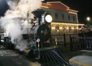 Christmas Train at Dry Gulch USA near Pryor steams on | Faith ...