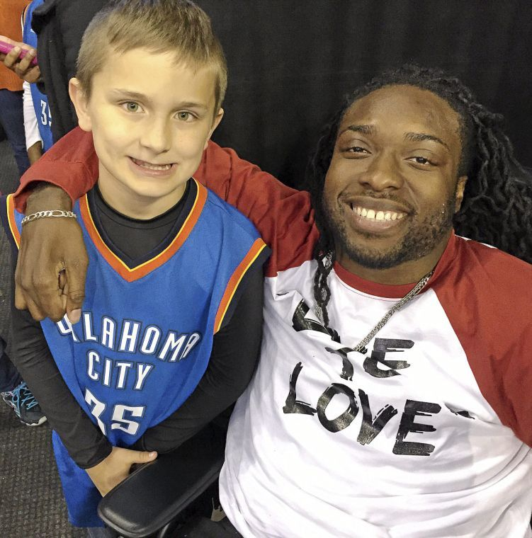 Denver Sports Journalist: Jenks Boy Wins Thunder Contest, Attends Game With 'my Role