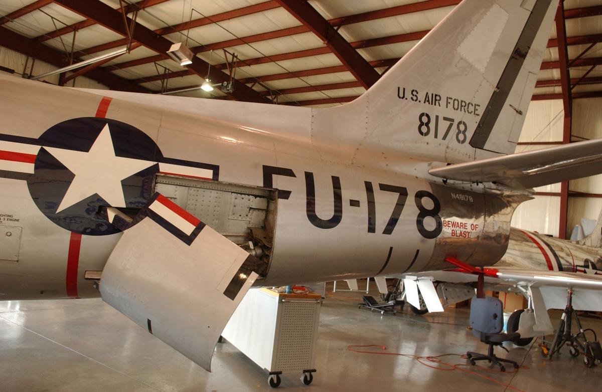 DSC_0200 F-86A Sabre Fighter Jet Dr John Swar