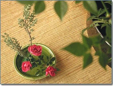 Ikebana Adds Meaning To Floral Arranging