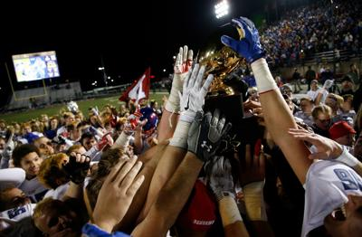Bixby vs Sand Springs Class 6AII state high school title football game
