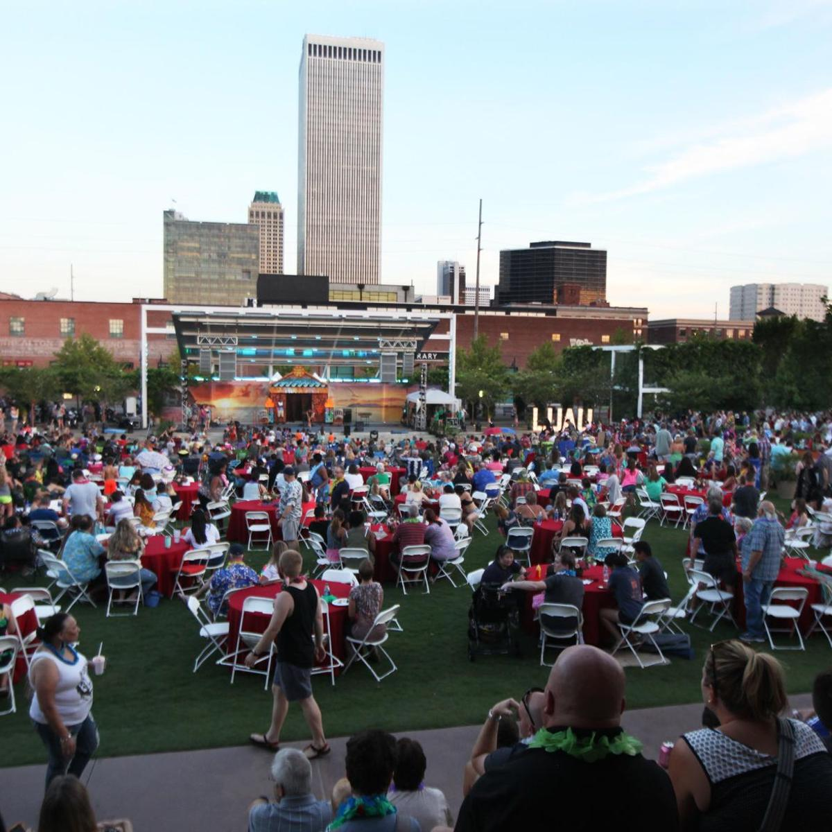 Guthrie Green to host urban luau July 28 | Entertainment