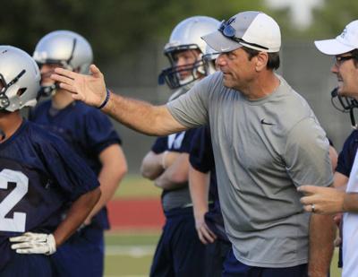Edmond North High School head football coach Scott Burger newsok