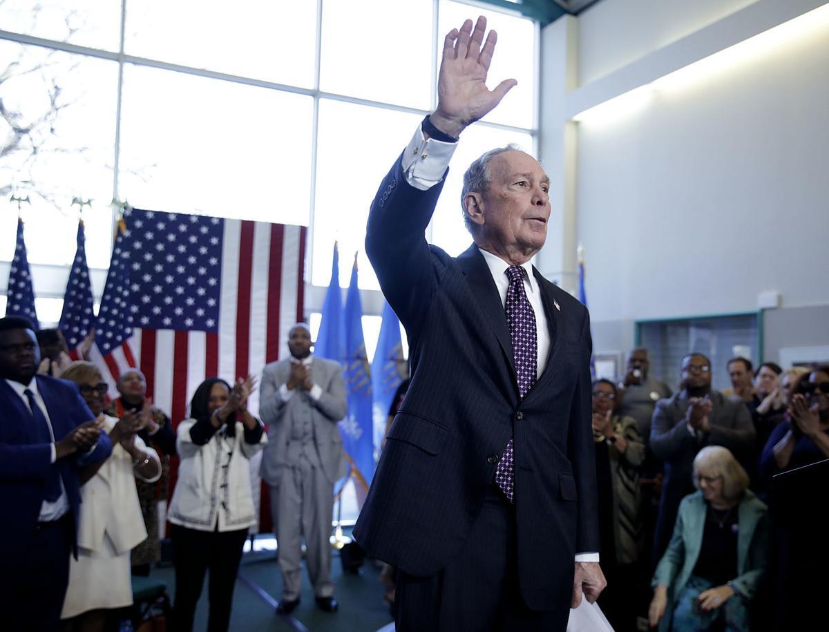 Michael Bloomberg in Tulsa