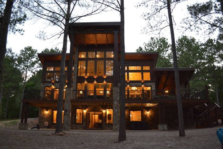 Luxury Cabins In Oklahoma Perfect For Romantic Getaways Or