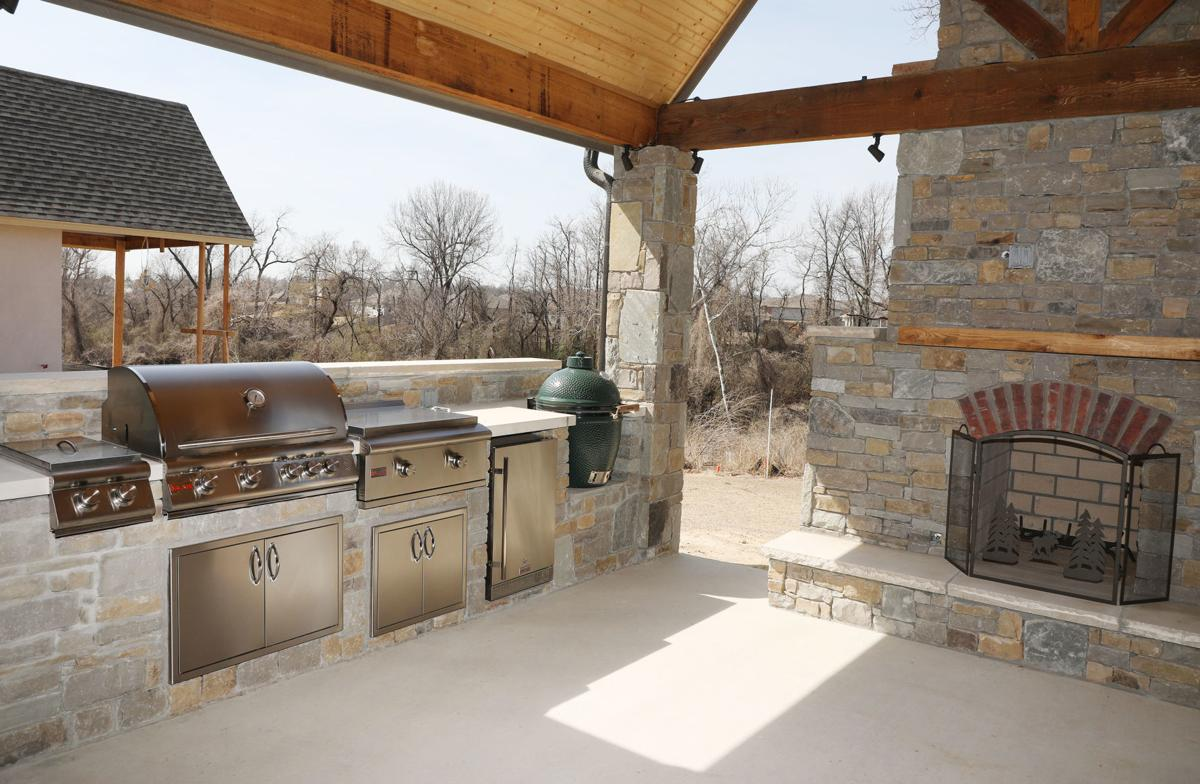 Add living space with a custom outdoor kitchen | Tulsa World ...