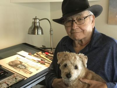 N. Scott Momaday and Chino, Photo Credit Jill Momaday