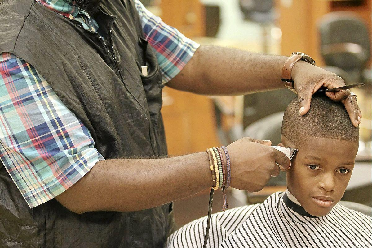 Parents Children Benefit From Free Back To School Haircuts At Tulsa