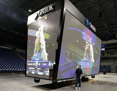 University of Tulsa set to reveal new video board, sound