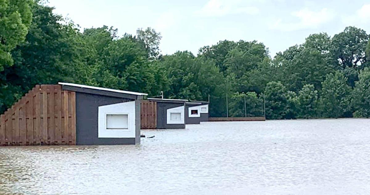 Tulsa Gun Club flood