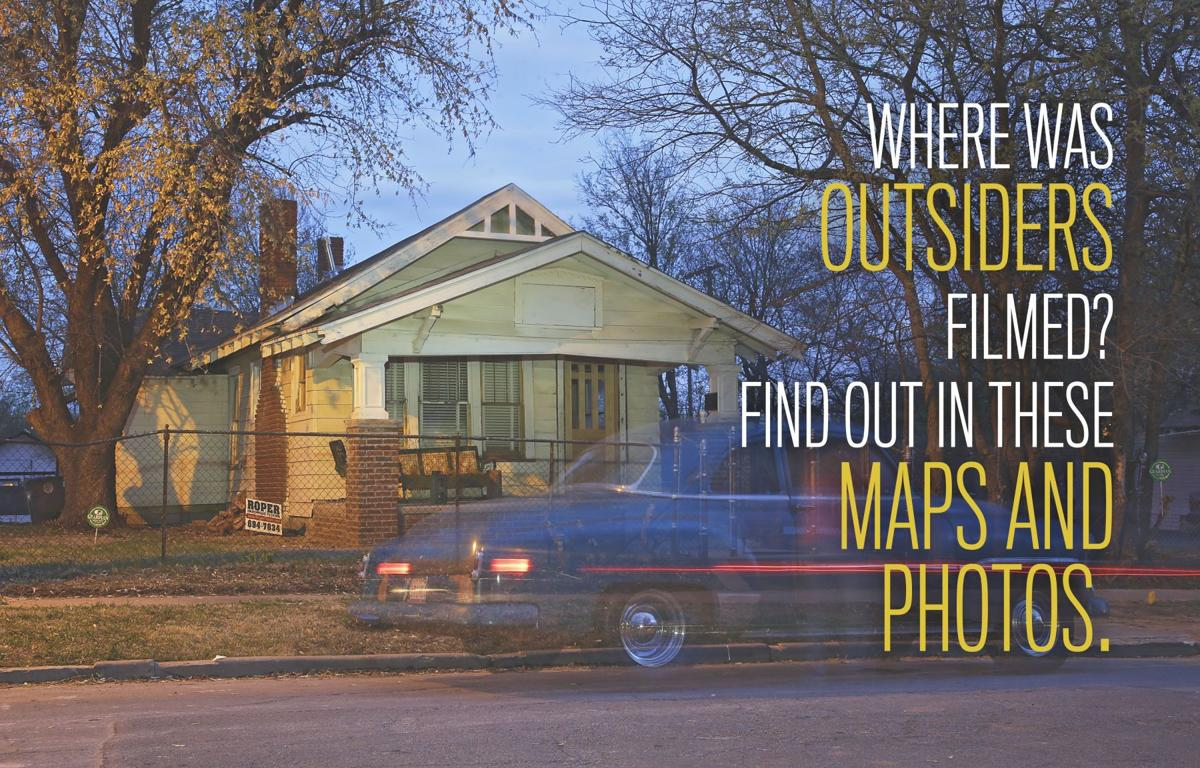 explore the locations where the outsiders movie was filmed