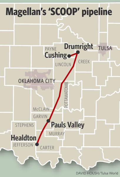 Magellan Midstream Plans To Reactivate Scoop Pipeline