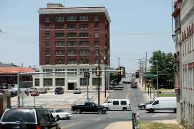 Muskogee business district