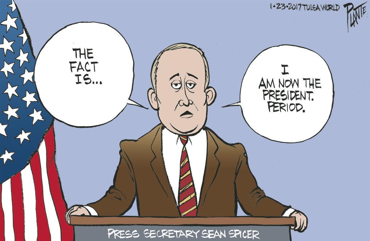 Bruce Plante Cartoon Alternative Fact Editorial