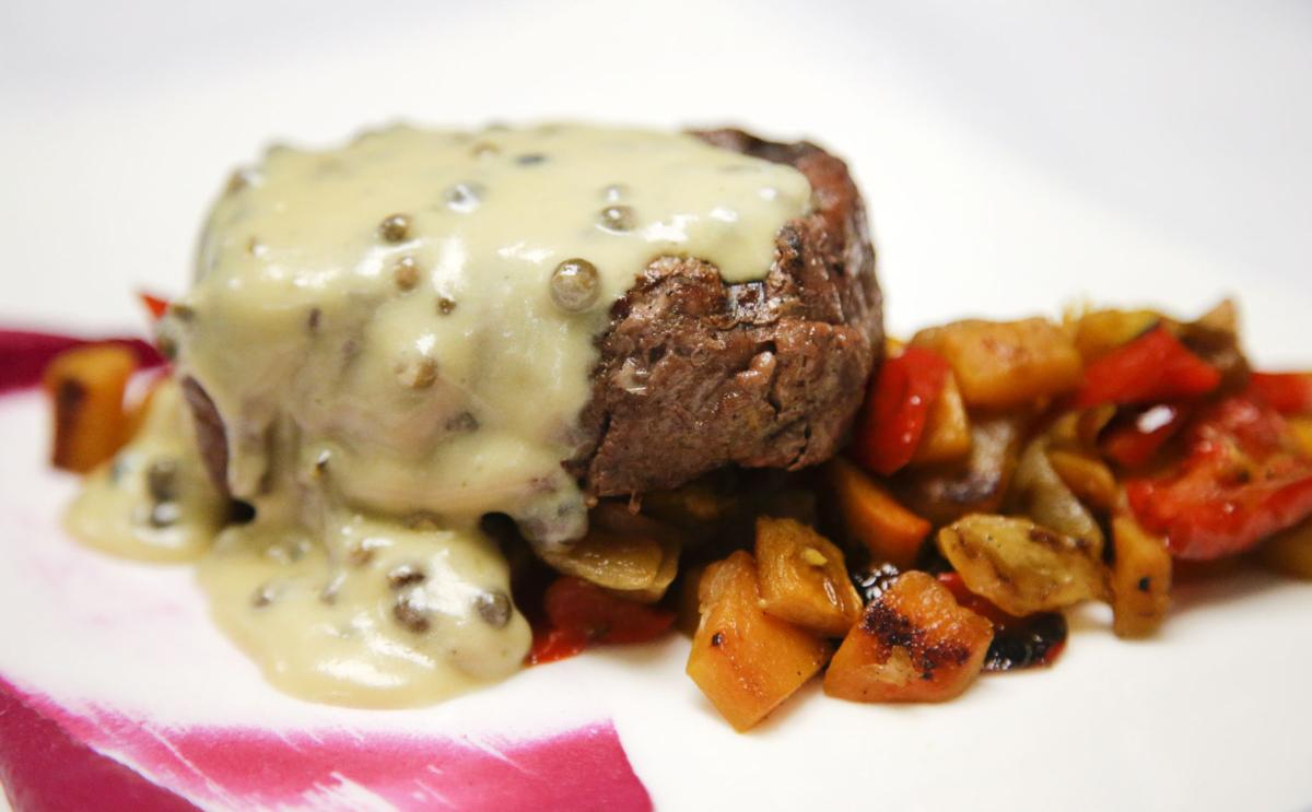 Chalkboard steak