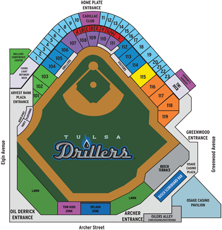 Tulsa Drillers opening day is here  Check out the best days