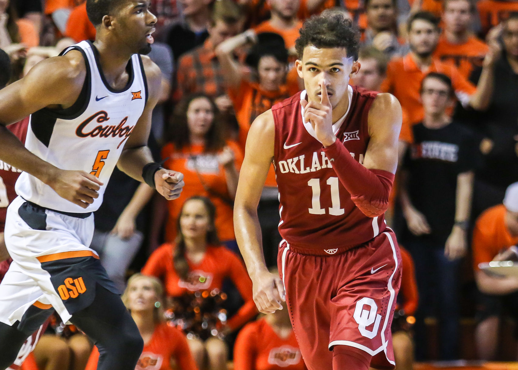 basketball coach cover letter%0A OU men u    s basketball  Trae Young u    s    points not enough against Oklahoma  State   Sports Extra   tulsaworld com