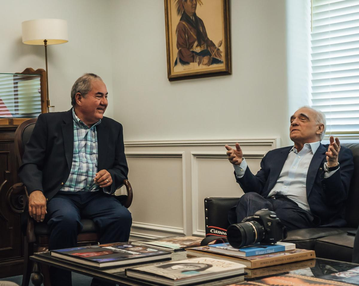 Standing Bear and Scorsese