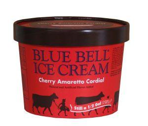 Cherry amaretto ice cream blue bell