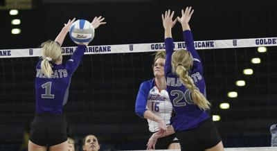 TU volleyball vs. Weber State (copy)