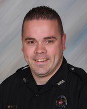 Blanchard Police Officer Jordan Jones
