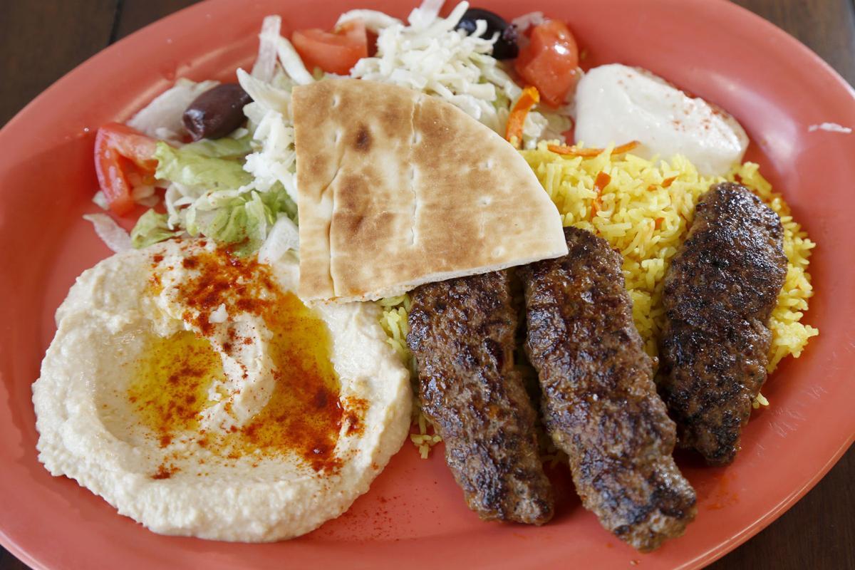 Kenda's Deli beef kebabs