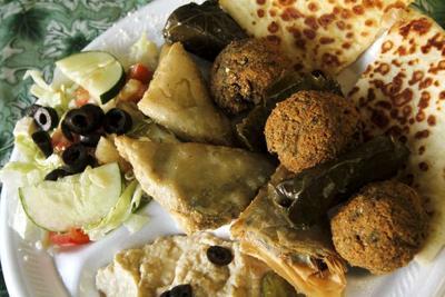 One big, fat Greek platter