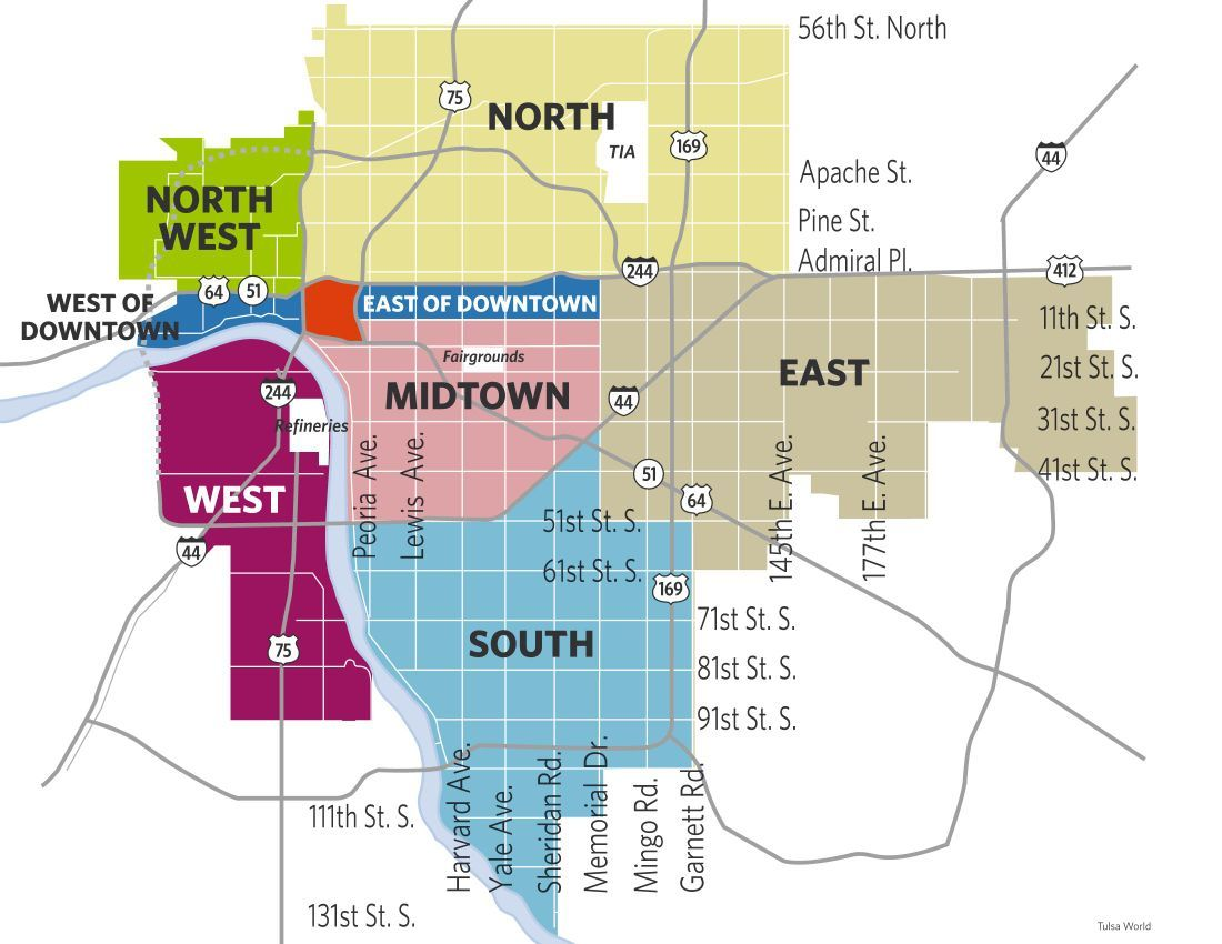 Ginnie Graham: Tulsa neighborhoods stuck in identity crisis | News ...