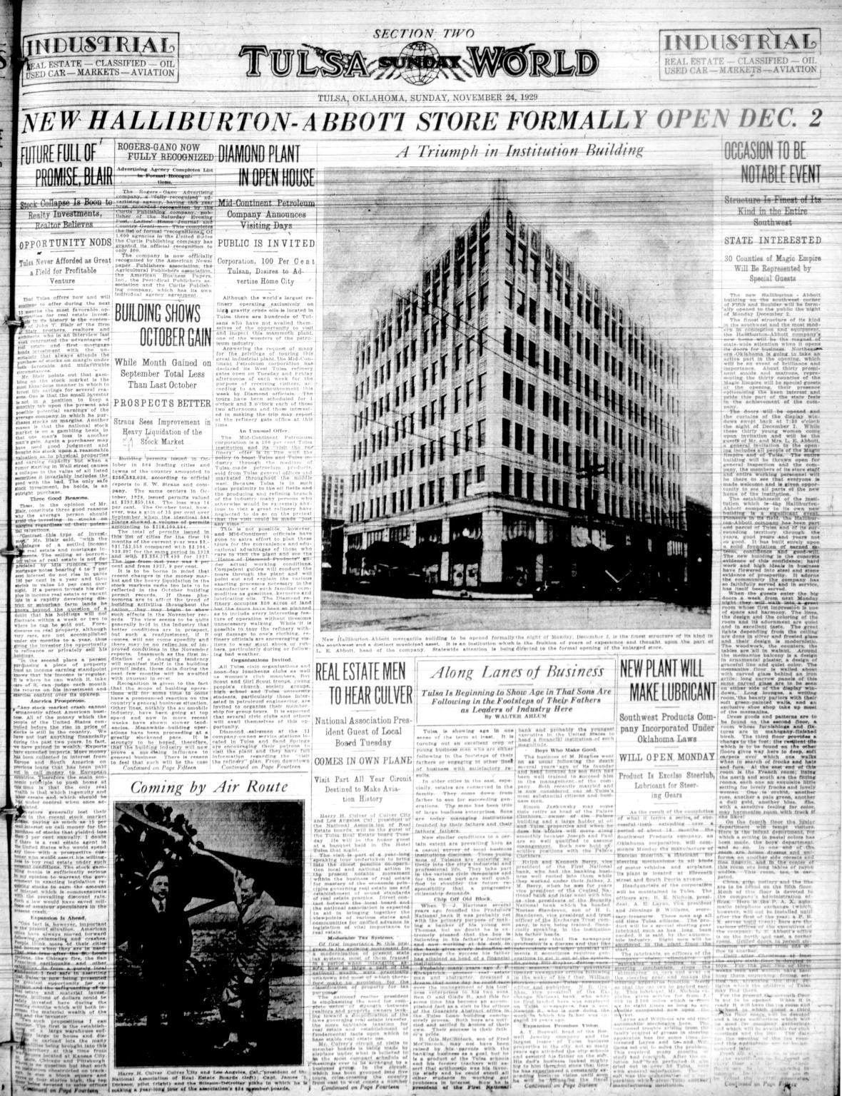 Throwback Tulsa: Art deco Skaggs Building missed out on