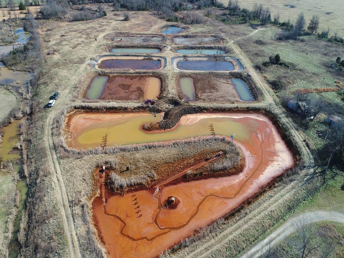 Tar Creek Treatment Ponds